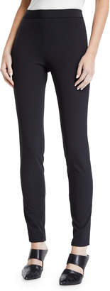 Theory High-Waist Side-Zip Leggings - Recycled Becker