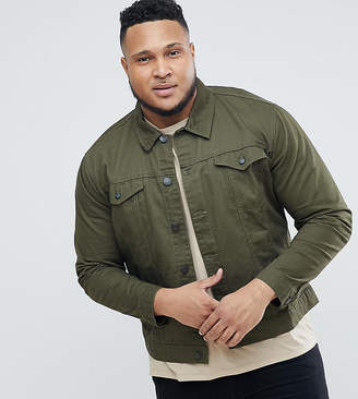 ONLY & SONS PLUS Twill Trucker Jacket
