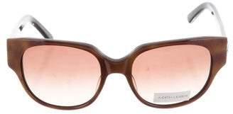Judith Leiber Embellished Oversize Sunglasses w/ Tags