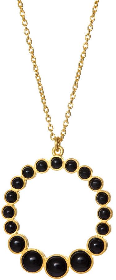 Arena CPH Rosa Black Onyx Necklace