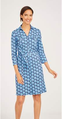 J.Mclaughlin Brynn Shirt Dress in Royal Peacock