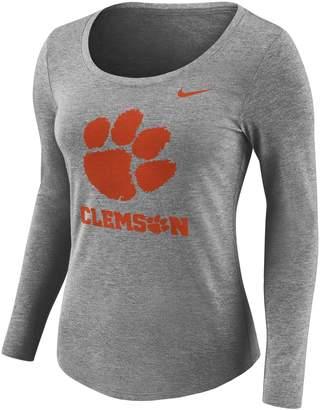 Nike Women's Clemson Tigers Logo Graphic Tee