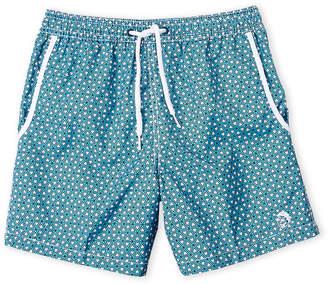 Mr.Swim Mr. Swim (Boys 8-20) Geometric Print Swim Trunks