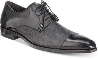 Mezlan Men's Short Wing Patent Blucher Oxfords, Created for Macy's