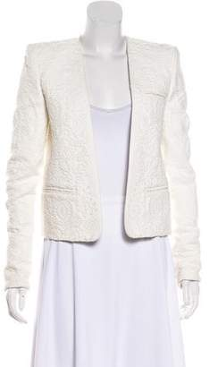 Balmain Structured Open-Front Blazer w/ Tags