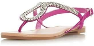 Dorothy Perkins Womens *Head Over Heels by Dune 'Kimmba' Ladies Flat Sandals