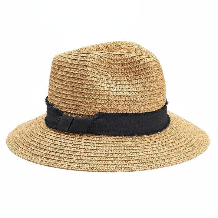 SONOMA Goods for LifeTM Down Brim Panama Hat