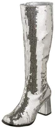 Pleaser USA Bordello Women's Spectatcular-300 Sequin Gogo Boot