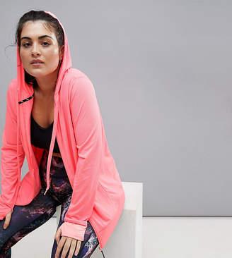 Nola Jacquard Hooded Jacket In Pink