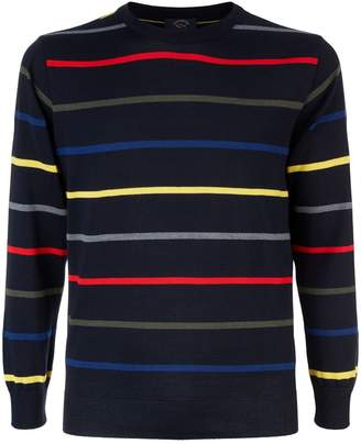 Paul & Shark Fine Striped Sweater
