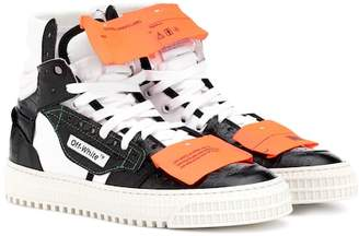 Off-White Embossed leather sneakers