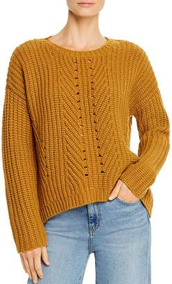 Eileen Fisher Cashmere-Wool Boxy Sweater