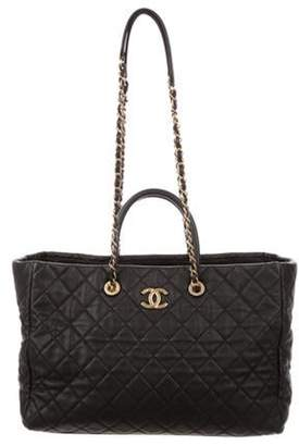 Chanel 2018 Coco Handle Shopping Tote Black 2018 Coco Handle Shopping Tote