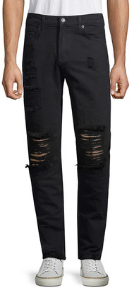 Dtla Brand Jeans Distressed Skinny Pant