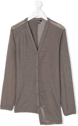 European Culture Kids asymmetric buttoned blouse