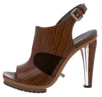 Rodarte Embossed Wedge Sandals w/ Tags