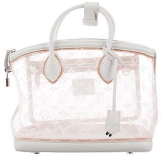 Louis Vuitton Monogram Transparence Lockit Bag
