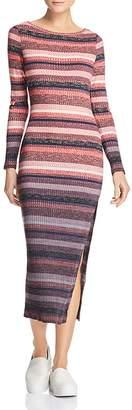French Connection Bintan Striped Knit Dress