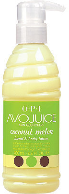OPI Avojuice Skin Quenchers Coconut Melon Hand & Body Lotion