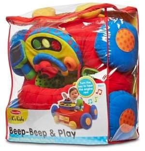 Melissa & Doug Beep-Beep and Play Plush Car