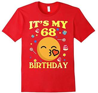 It's My 68th Birthday Shirt 68 Years Old 68th Gift For Women