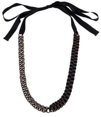 Marni Chain-Link Collar Necklace