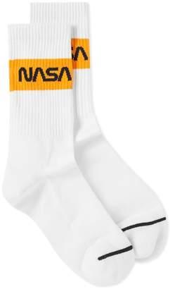 Heron Preston Cotton Rib Sock