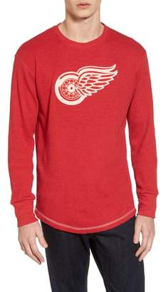 American Needle Detroit Red Wings Embroidered Long Sleeve Thermal Shirt