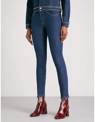 Claudie Pierlot Skinny mid-rise stretch-denim jeans
