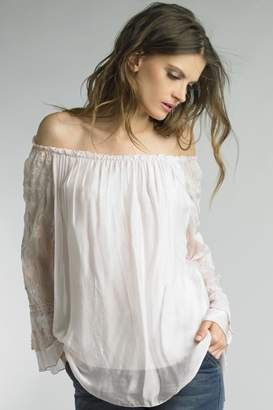 Tempo Paris Blush Pink Blouse