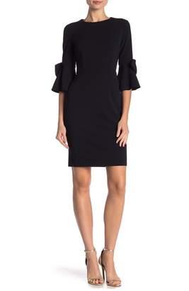 Donna Morgan Half Sleeve Shift Dress