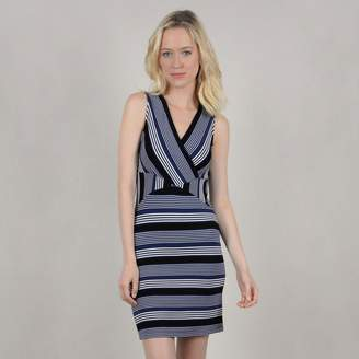 Molly Bracken Striped Mini Dress