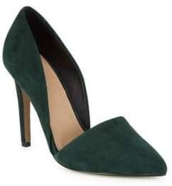 Metallic D'Orsay Heels