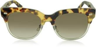 Gucci GG 3744/S Acetate Square Frame Sunglasses