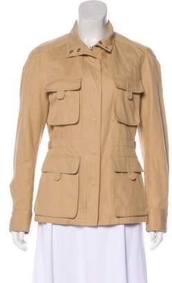 Burberry Long Sleeve Canvas Jacket