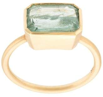 Irene Neuwirth 18kt yellow gold One-Of-A-Kind Tourmaline ring