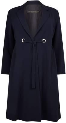 Marina Rinaldi Triacetate Duster Coat