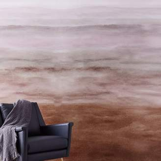 west elm Washed Ombre Wallpaper
