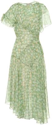 Preen by Thornton Bregazzi Etta floral chiffon midi dress