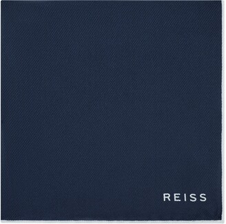 Reiss Moon Silk Pocket Square