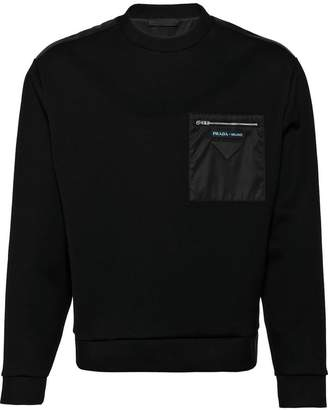 Prada chest pocket sweater