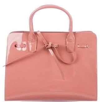 Mansur Gavriel Patent Leather Sun Bag