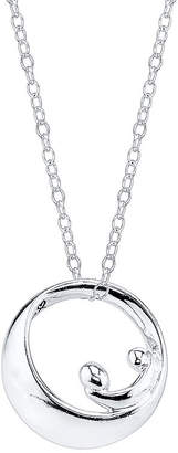 Footnotes Sterling Silver Forever Mother Pendant Necklace