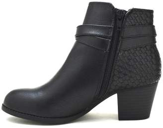 City Classified Woven Back-Belted Booties