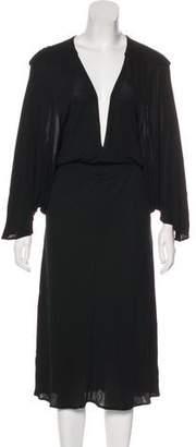 Fendi Draped Maxi Dress