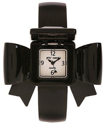 Betsey Johnson Bow Bangle Watch