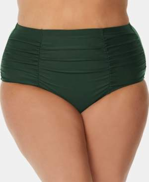 Raisins Curve Trendy Plus Size Juniors' Tummy-Control Bikini Bottoms Women's Swimsuit