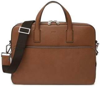 9671ace72f HUGO BOSS Crosstown Leather Briefcase
