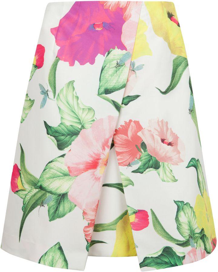 Ted Baker Isabeli flowers at high tea skirt