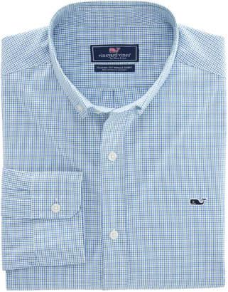 Vineyard Vines Beechcroft Check Classic Whale Shirt